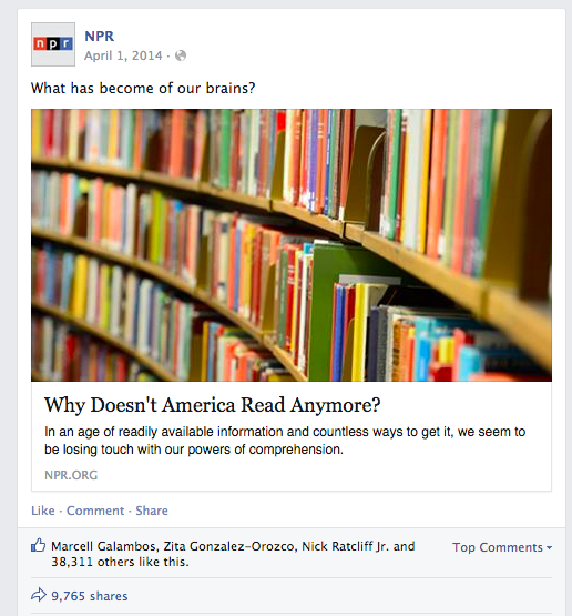 why do people share articles they don't read