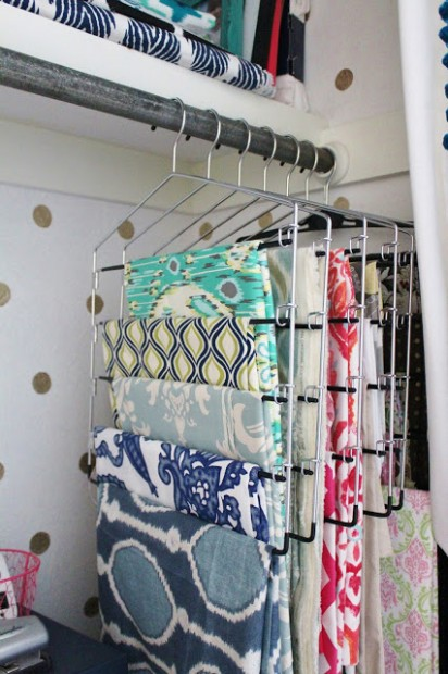 fabric storage-hangingHouseforFive