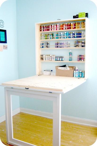 work table7-paintstorage
