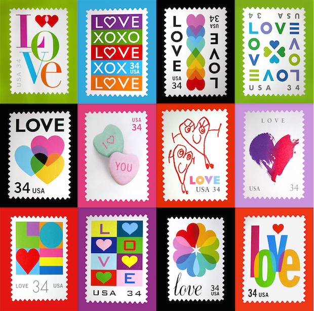 I Heart Michael Osborne Designer Of The Love Stamps