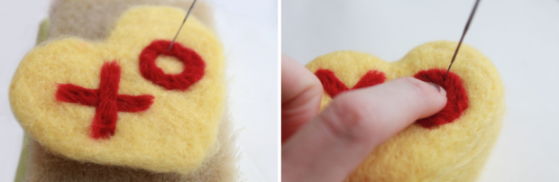 Learn how to make these adorable conversation heart crafts on the CreativeLive blog!