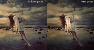 create a vignette in photoshop