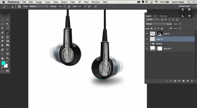 Photoshop Tip: Use Layers to Create Realistic Shadows