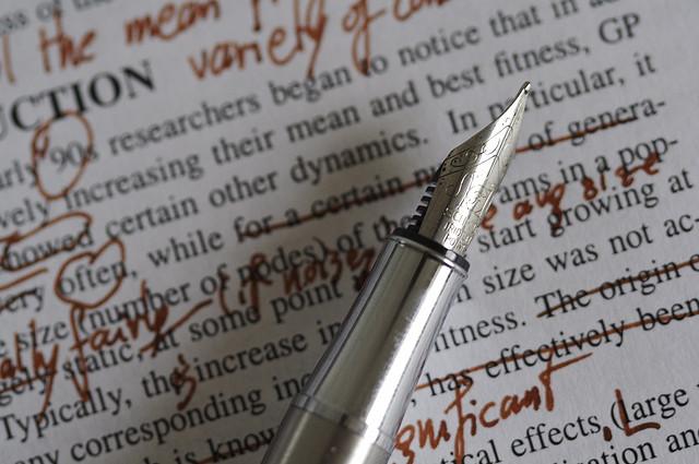 self-editing tips