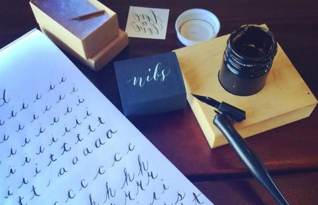 Get beginner calligraphy tips on the CreativeLive blog.