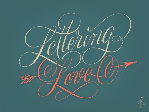 hand lettered desktop wallpaper