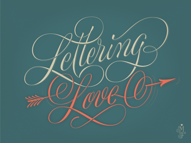 hand lettered desktop wallpaper