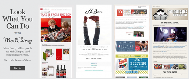Email Newsletter Inspiration HandPicked By MailChimp - Mailchimp newsletter templates