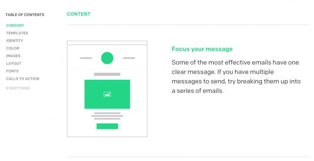 MailChimp Email Design Guide Marketing MailChimp Email Newsletter Inspiration