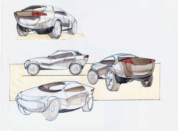 Jorge Paricio sketches