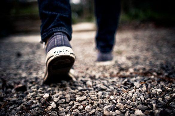walk to be more creative