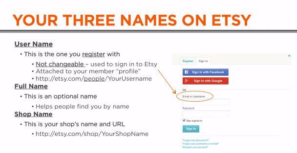 Good name for username