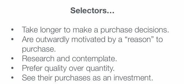 customer profile exercise
