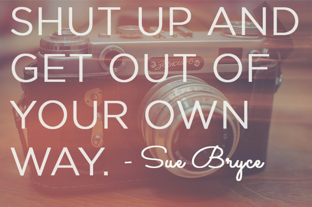 sue bryce advice