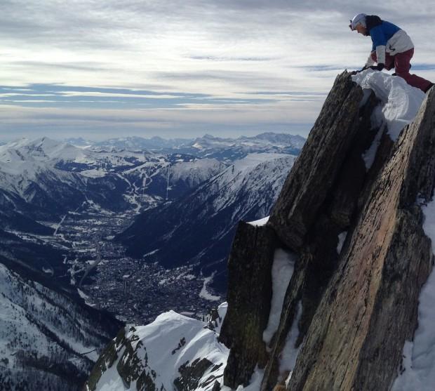 Les Grands Montets, Chamonix - France - cropped
