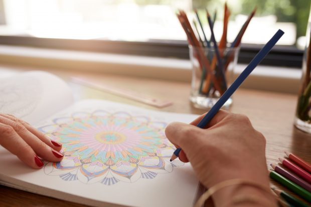 The Benefits of Coloring on Creativity, Stress and Mental Health