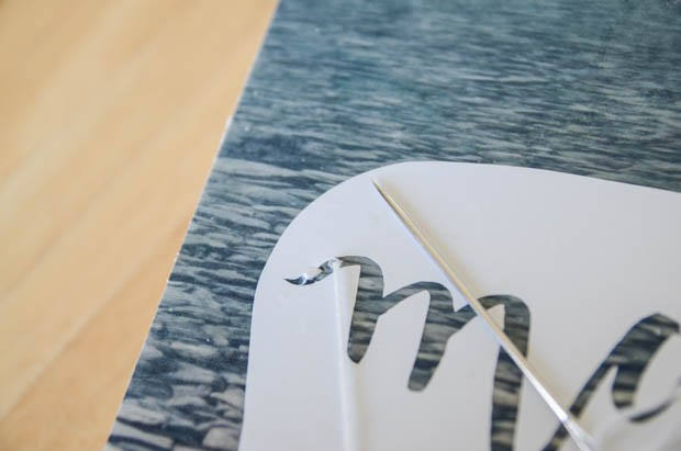 How to Make a DIY Hand Lettered Stitched Photo Canvas on CreativeLive Photo 5