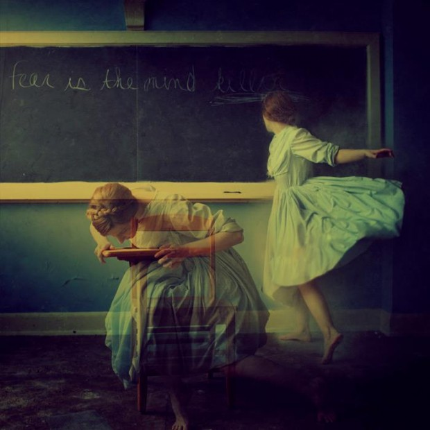 A Dusty Room by Brooke Shaden