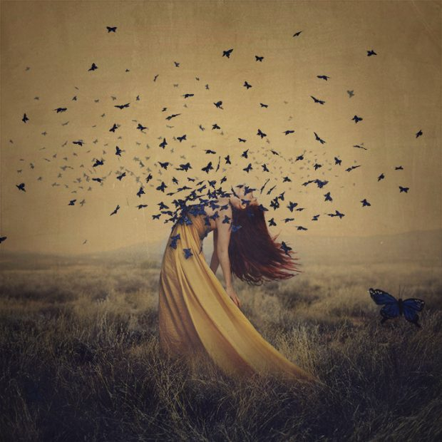 The Sound of Flying Souls by Brooke Shaden