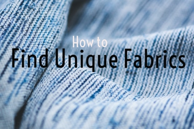 Find Unique Fabrics for Your Projects! http://blog.creativelive.com/think-outside-the-box-store-3-places-to-find-unique-fabrics/