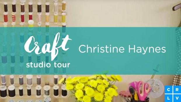 Inspiring Craft Rooms! Christine Haynes shows off her pattern organization http://blog.creativelive.com/studio-tour-christine-haynes/