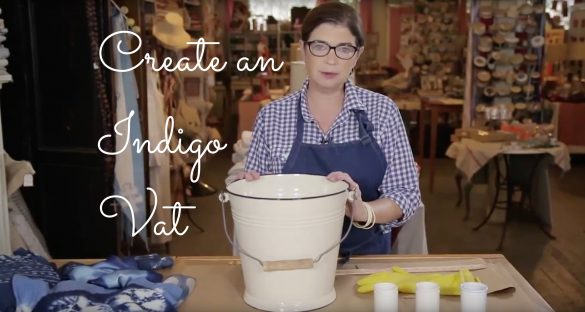 Learn how to create an indigo dye vat with French General and CreativeLive