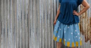 sewing basics easy skirt
