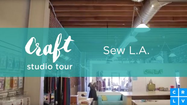 Take a tour of the memorable creative space, Sew L.A. with CreativeLive! http://blog.creativelive.com/studio-tour-shaerie-mead-of-sew-l-a/