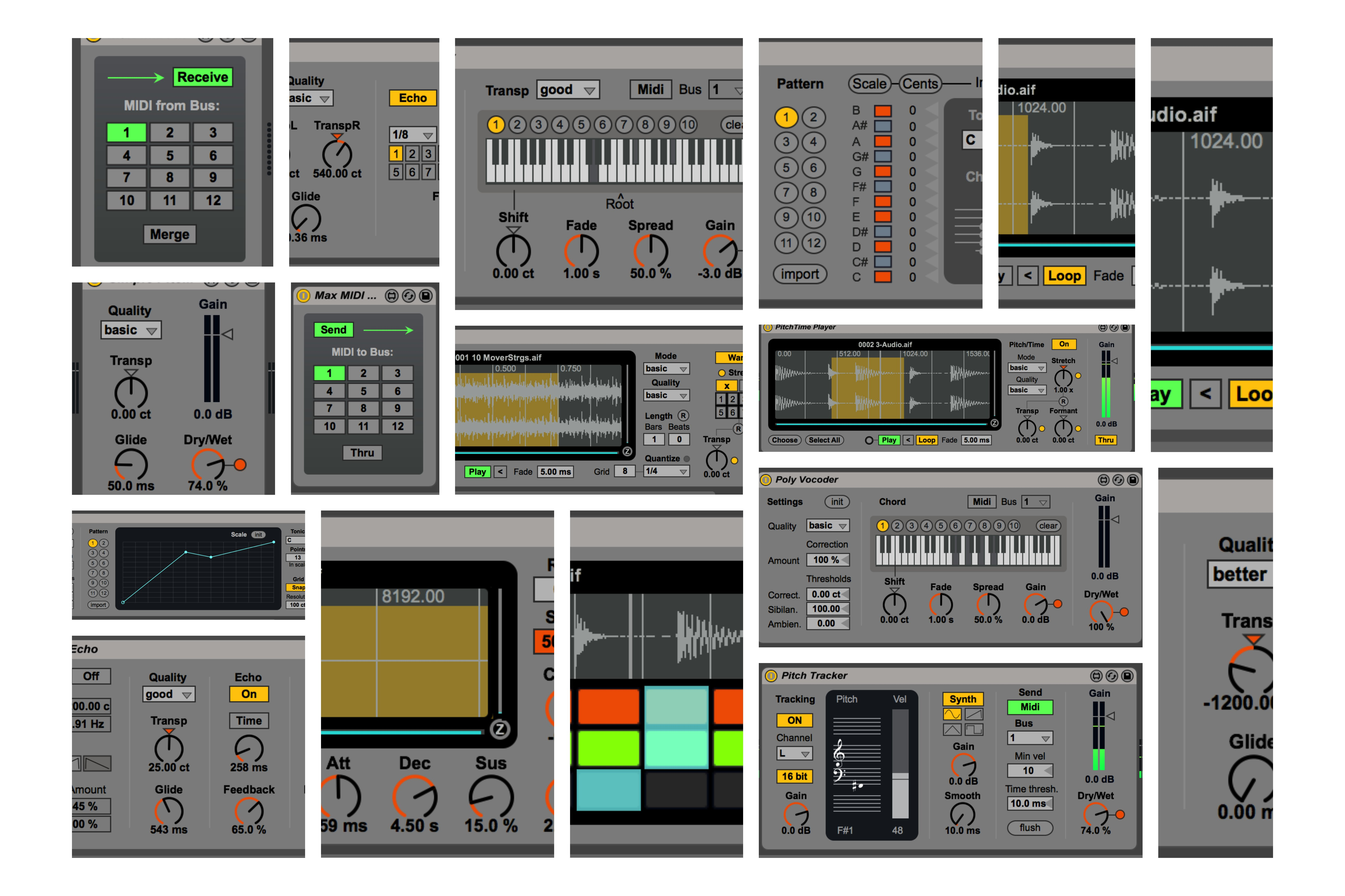 Physical Control of Synthesis with Max Msp for Abelton ...