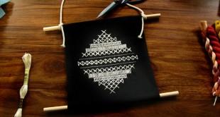 custom cross-stitch