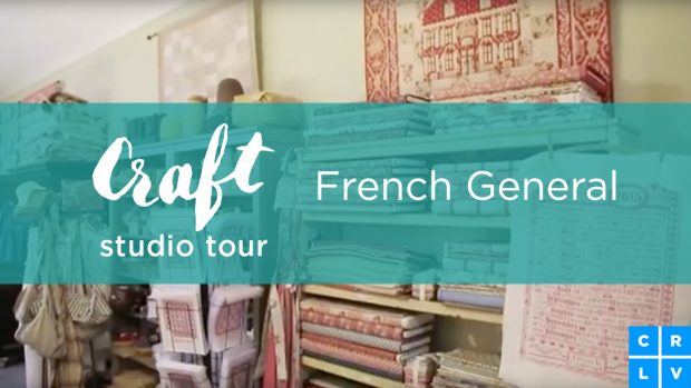 Tour the incredible LA studio, French General: http://blog.creativelive.com/craft-studio-tour-french-general/