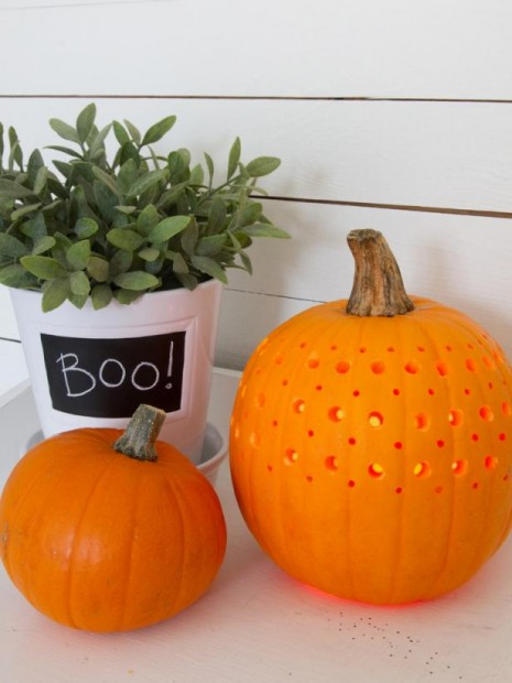 Jack-O'-Lantern pattern ideas for halloween pumpkins