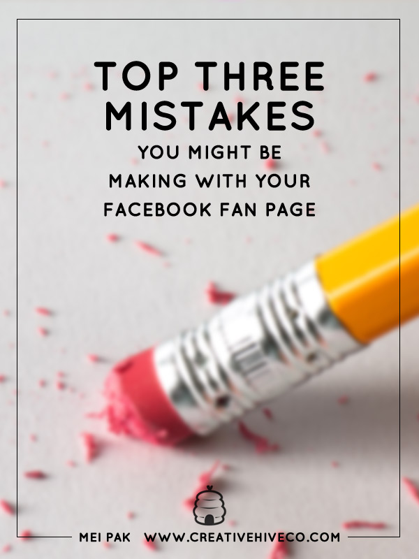 Find out you can jazz up your Facebook marketing. blog.creativelive.com/the-3-mistakes-you-are-probably-making-on-facebook