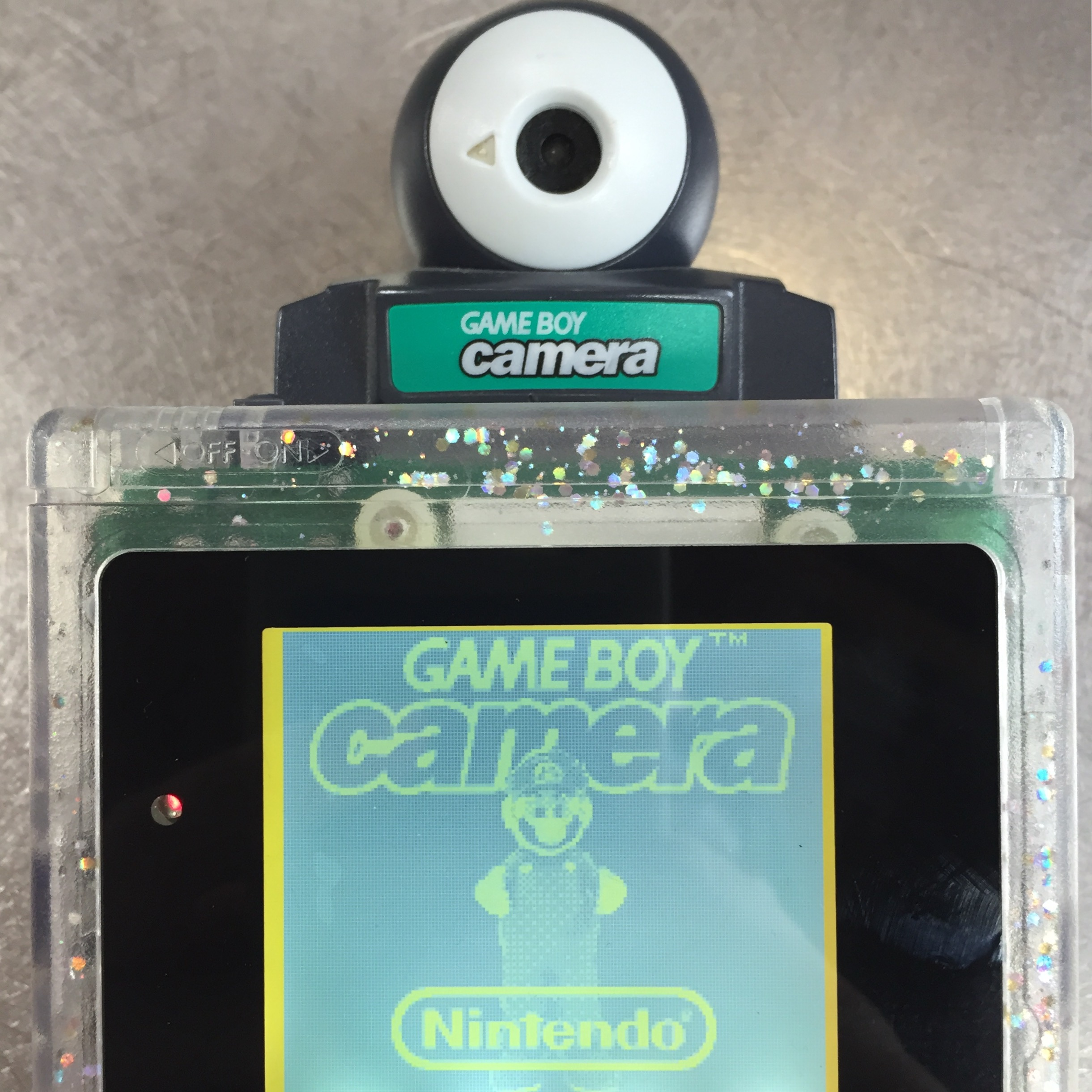 New Year Calendar Craft : New ideas old hardware taking photos with the gameboy