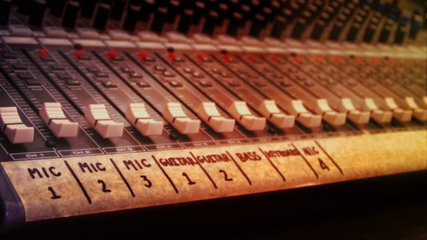 mixing rock