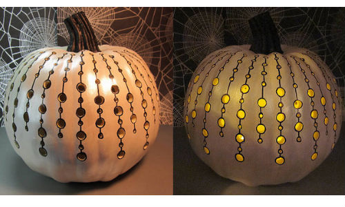 Pumpkins power drills creative jack o lantern ideas