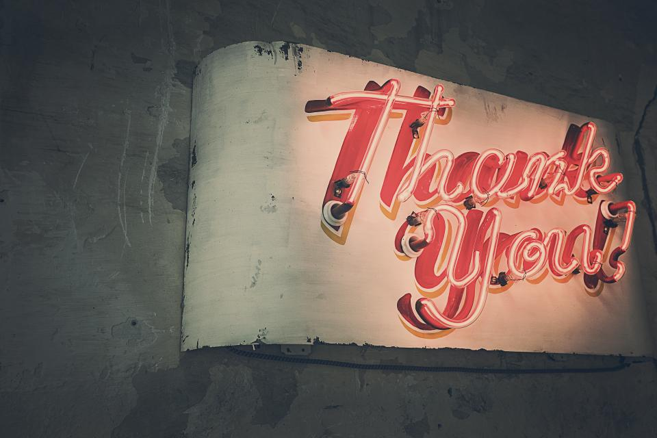 Gratitude and Thanking Your Customers Helps Sell Products Online