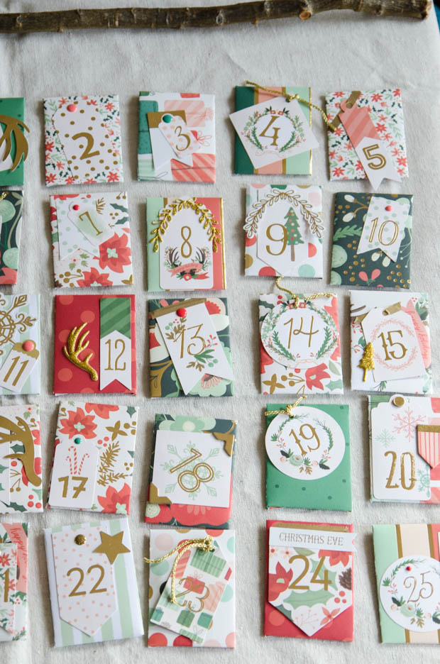 Diy Calendar Supplies : A gorgeous diy advent calendar