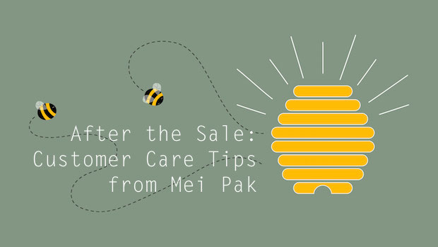 Retain your customers + get repeat sales with tips from Mei Pak: http://blog.creativelive.com/keep-those-customers-3-simple-tips-for-securing-repeat-sales/