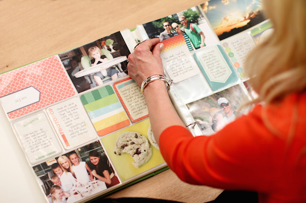 Scrapbooking made easy with Project Life.