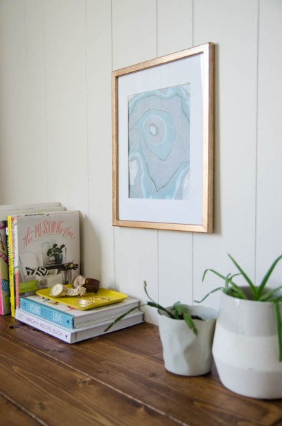 Love this diy framed wall art? Learn how it was made on the CreativeLive blog.