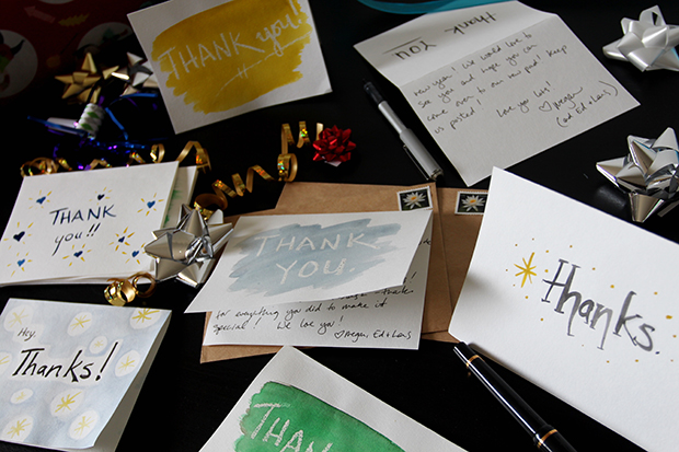 make your own diy watercolor thank you cards with tips from creativelive - Make Your Own Thank You Cards