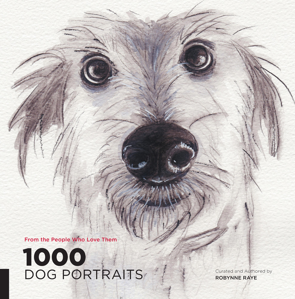 1000 dog portraits cover