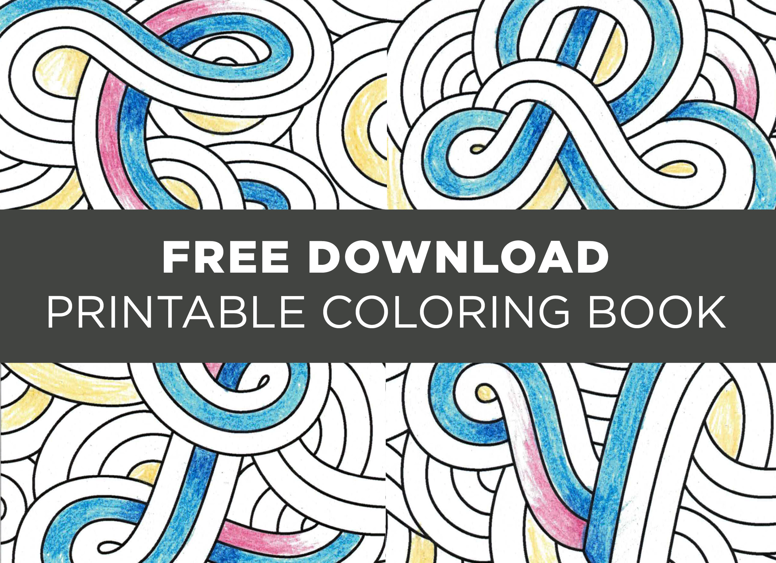 Download The Free CreativeLive Printable Coloring Book