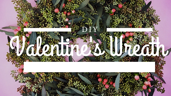 Make Your Space More Lovely with a DIY Valentine's Wreath. Find the complete instructions on the CreativeLive blog.