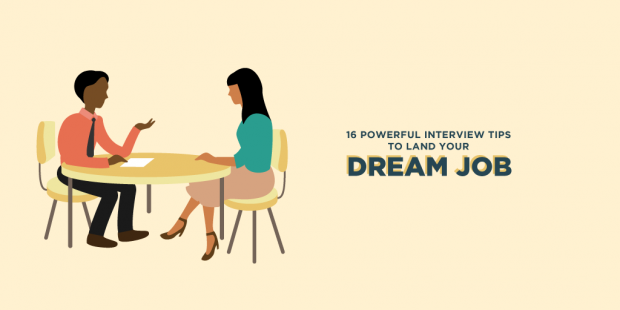 16 Best Interview Tips To Help You Land Your Dream Job This Year On  CreativeLive  Job Interview Tips