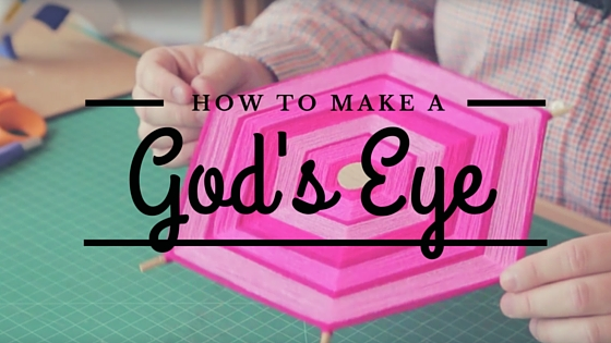 Learn how to make a gods eye on the CreativeLive blog!