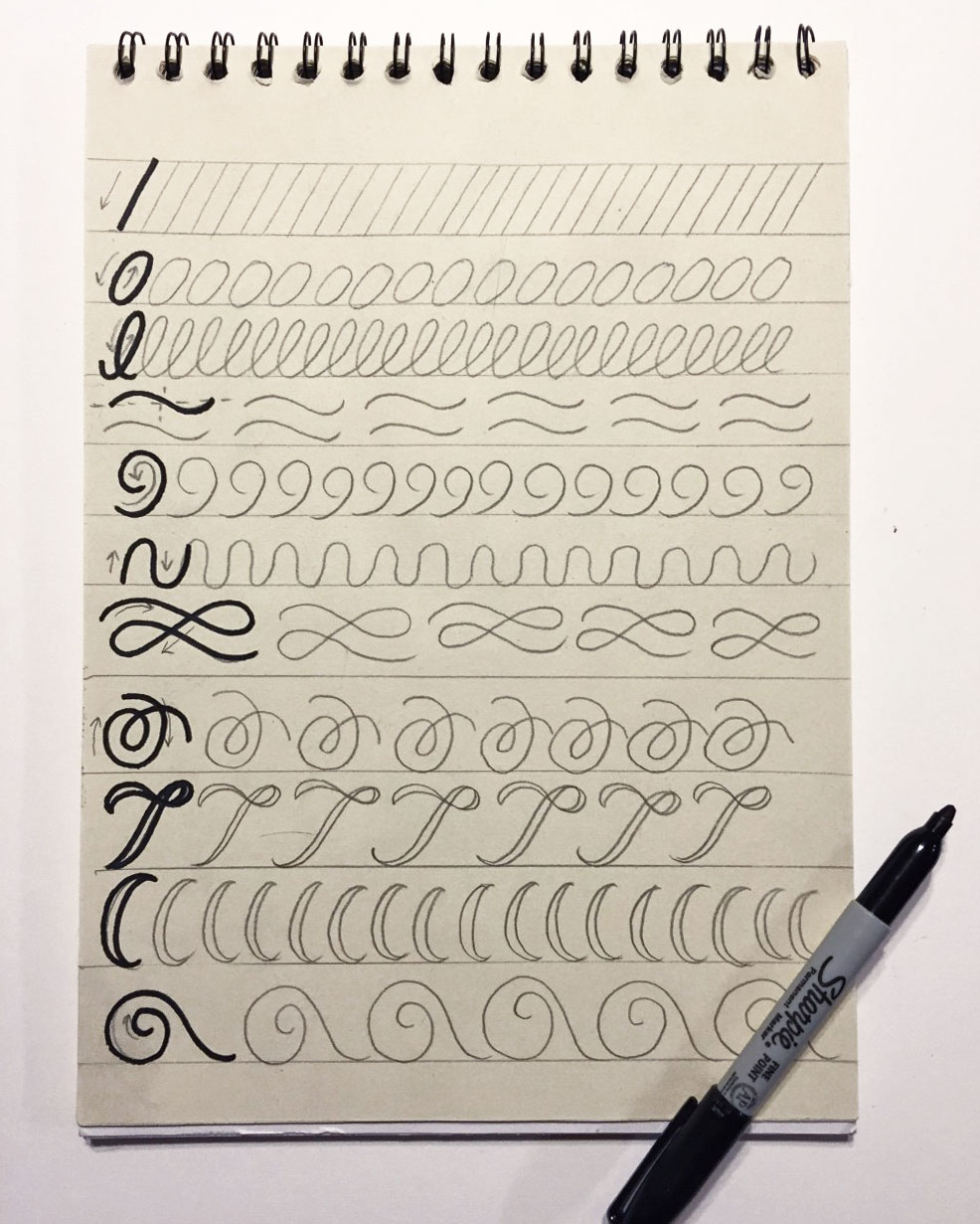 Hand lettering for beginners a guide to getting started this hand lettering for beginners guide will give you 5 tips for getting started from baditri Images