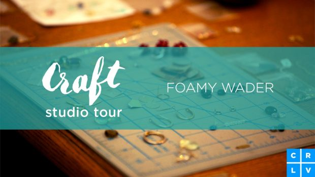 Jewelry Studio Tour: Go behind the scenes at Foamy Wader