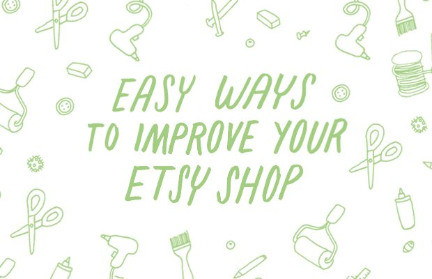 Get tips on Etsy selling and improving your online shop.
